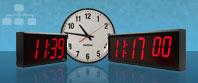 Cyfrowy synchroniczny Duże Zegary ścienne