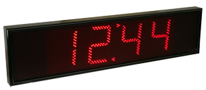 Large Digital Wall Clocks from Galleon Systems