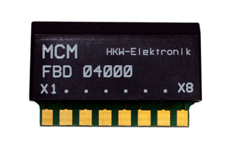 MCM-RS232 Microcontroller Decoder Module | Components