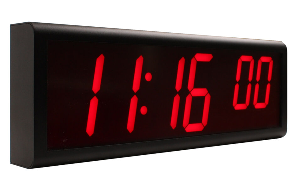 Novanex Solutions Network Clock Synchronized Digital