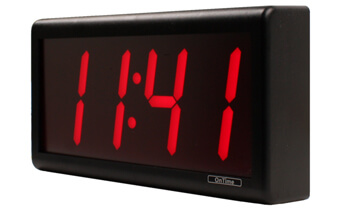 What's included with the 4 Digit PoE Clock