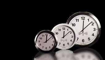 radio controlled analogue wall clock