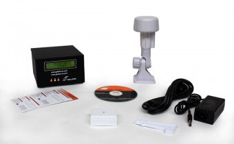NTS-4000-GPS-S NTP Server box contents GPS model