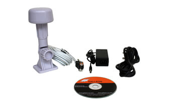 what is supplied with the AC-400-GPS time receiver