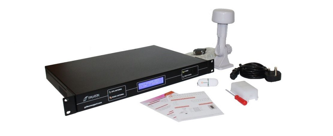 Galleon Systems GPS NTP time server package.