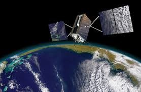 What is Network Time Protocol? GPS satellite orbiting earth.