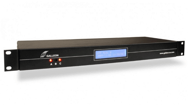 What Is NTP? A Galleon Systems rackmount NTP time server.